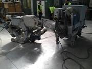 Дробеструйная обработка бетона